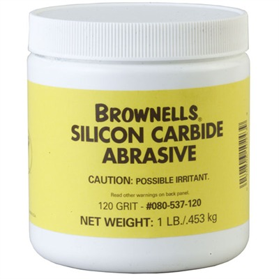 Brownells Silicon Carbide Abrasive Grit