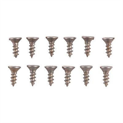 Brownells Unplated Steel Flat Head Wood Screw Kit