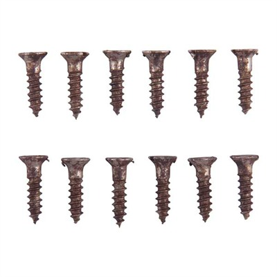 Brownells Unplated Steel Flat Head Wood Screw Kit - 4 X 1/2