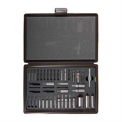 Brownells Chamfering & Facing Combo Sets - Handgun Master Facing/Chamfering Set W/ Steel Pilots