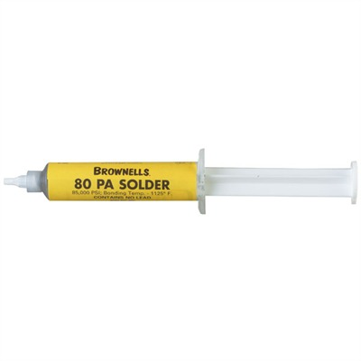 Homogenized Solder