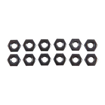 Brownells Uncle Mike's Sling Swivel Stud Kit - 10-32 Hex Nuts, 12-Pak