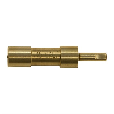 Brownells Brass Pilots - Fits .45 Cylinder