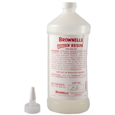 Brownells Acraglas - 28 Oz. Resin
