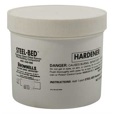 Brownells Steel Bed Kit - 32 Oz. Hardener