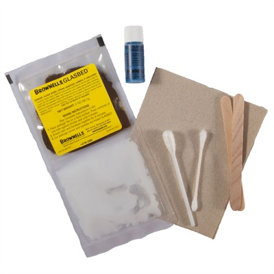 Brownells Glasbed With Non-Flammable Release Agent - Brown Glasbed Kit, Non-Flammable