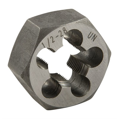 Brownells Ar-15/M16 Flash Suppressor Die - 1/2-28 Carbon Steel Hex Die