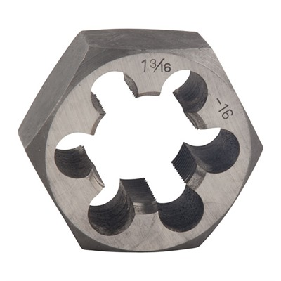 Brownells Ar-15/M16 Receiver Taps & Dies - 1-3/16-16 Carbon Steel Hex Die