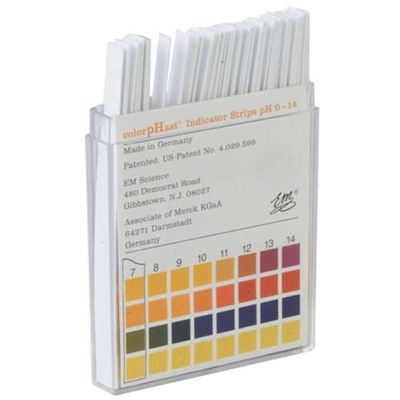 Neutralizing Kit For Oxynate® 7 & 84 Bluing Salts - 0-14 Ph Color Test Strips