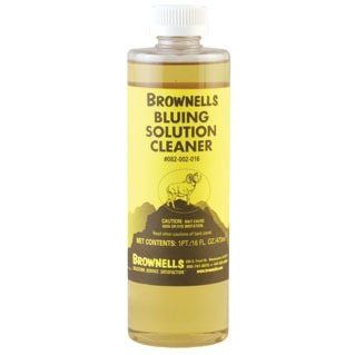 Bluing Solution Cleaner
