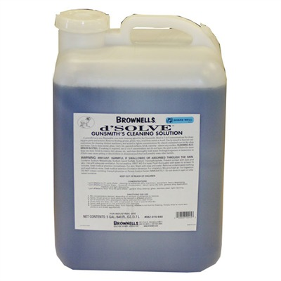 D'solve® Gunsmith Cleaner - 5 Gallon D'solve® Cleaner