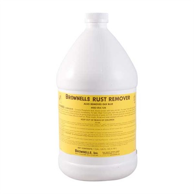 Brownells Rust And Blue Remover - 1 Gallon