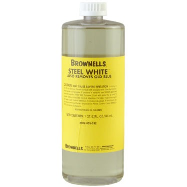 Brownells Steel White - 1 Quart