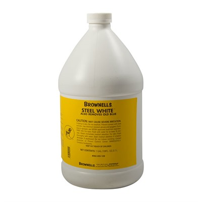 Brownells Steel White - 1 Gallon