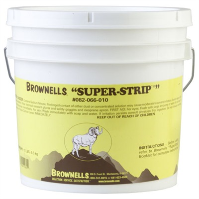 Brownells Super-Strip - 10 Lb. Super-Strip