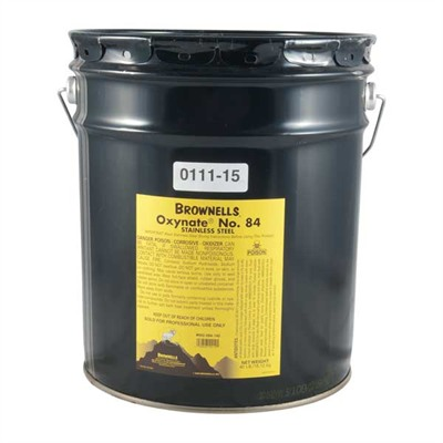 Oxynate~ No. 84 - Hot Chemical Bluing Compound