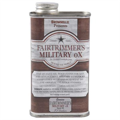 Military Ox Stock Oil Fairtrimmer's Military Ox 1 Pint Discount