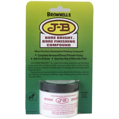 Brownells J-B Bore Bright - 1 Carton (12-2oz Containers) J-B Bore Bright
