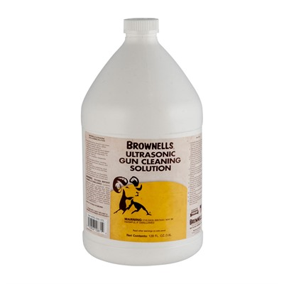 Brownells Ultrasonic Cleaning Solution & Oil - Ultrasonic Cleaning Solution, 1 Gal.