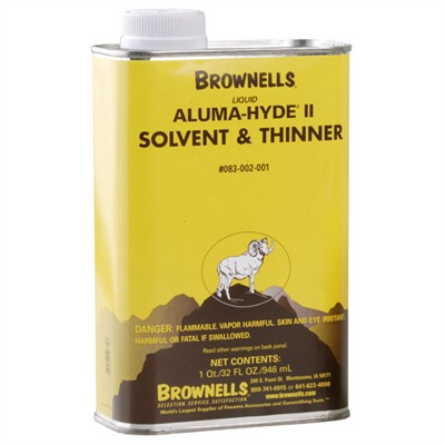 Brownells Liquid Aluma-Hyde Ii Solvent / Thinner - Liquid Aluma-Hyde Ii Solvent & Thinner, Qt