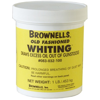 Old Fashioned Whiting 1 Lb. Old Fashioned Whiting Compound : Gunsmith Tools & Supplies by Brownells for Gun & Rifle