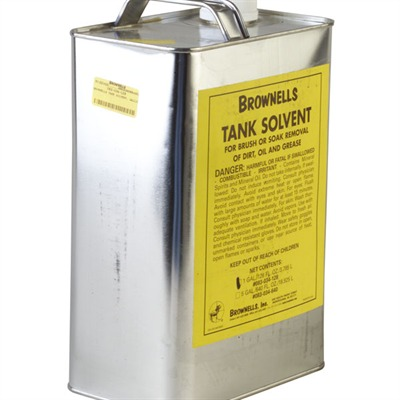 Brownells Tank Solvent - 1 Gallon Tank Solvent