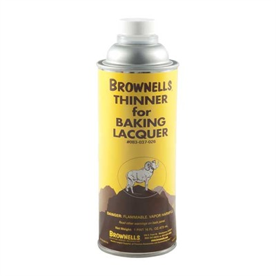 Baking Lacquer Liquid - Brownells Baking Lacquer Thinner, Pint