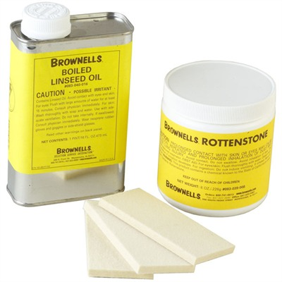 Brownells Stock Rubbing Kit