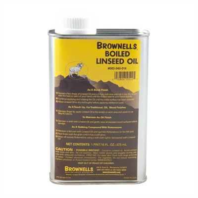 Brownells Boiled Linseed Oil