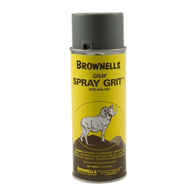 Brownells Spray Grit - Gray Spray Grit