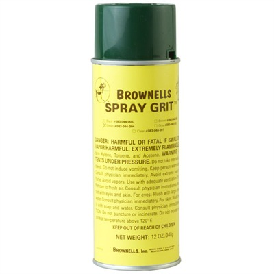 Brownells Spray Grit - Green Spray Grit