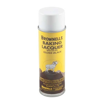 Aerosol Baking Lacquer - Gloss Black