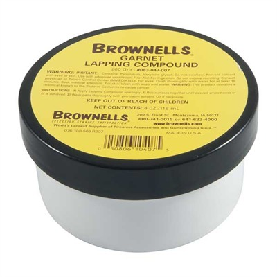 Brownells Garnet Lapping Compounds - Gk-7 Lapping Compound