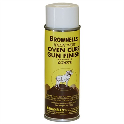 Brownells Teflon/Moly Oven Cure, Gun Finish