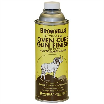 Brownells Liquid Teflon/Moly Gun Finish