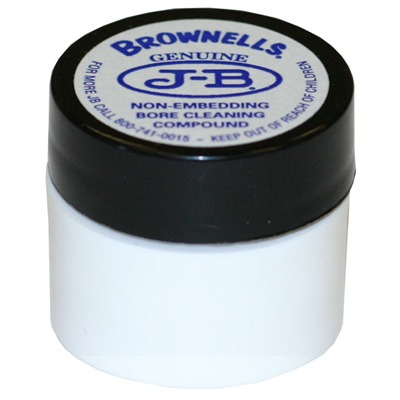 Brownells J-B Non-Embedding Bore Cleaning Compound - 1/4 Oz. J-B Bore Cleaning Compound
