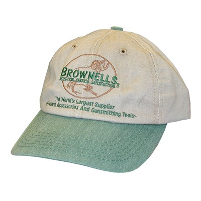 Brownells Headwear - Brownells Khaki/Green Cap