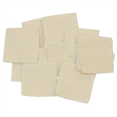 "Really Heavy Duty Patches Square Fits 1 1/2"" 35 40 Cal 100 Pak Discount"