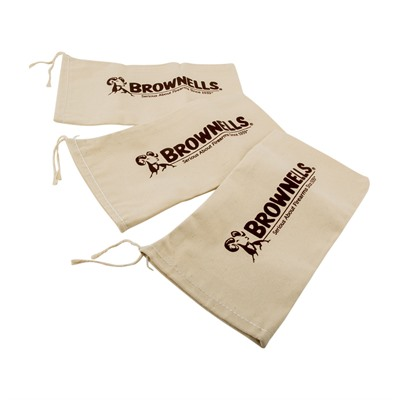Brownells Canvas Shooting Bags - Shooting Bag, 3-Pak