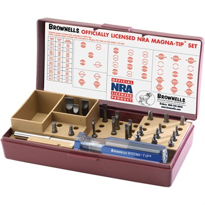 Brownells Officially Licensed Nra Magna-Tip~ Screwdriver Set