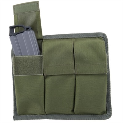 Triple Magazine Pouch - Molle 30-Round Magazine Pouch, O.D. Green
