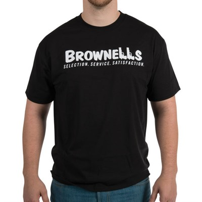 Brownells T-Shirts - Large Black Brownells T-Shirt