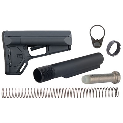 Brownells Ar-15 Acs Stock Assy Collapsible Mil-Spec - Ar-15 Acs Stock Assy Collapsible Mil-Spec Gray