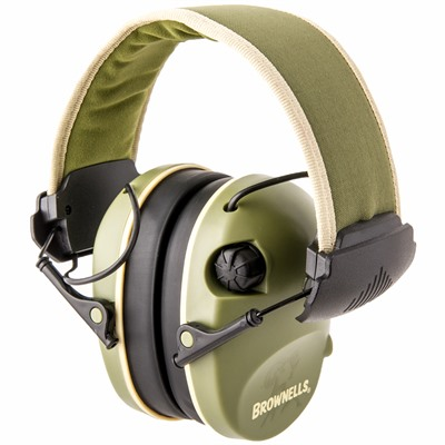 Brownells Premium Electronic Ear Muffs - Brownells Premium Electronic Earmuffs