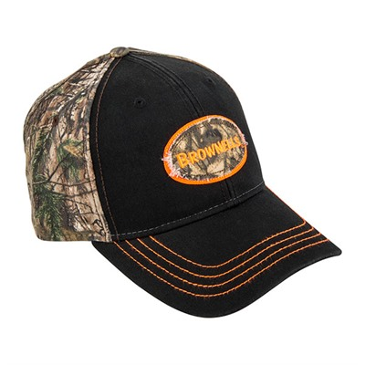 Brownells Realtree Ap Xtra/Black W/Round Logo Cap