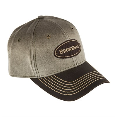 Brownells Canvas Two Tone Brown Cap