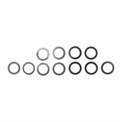 "Muzzle Shim Kit - Shim Kit For 1/2"" Diameter Muzzles"