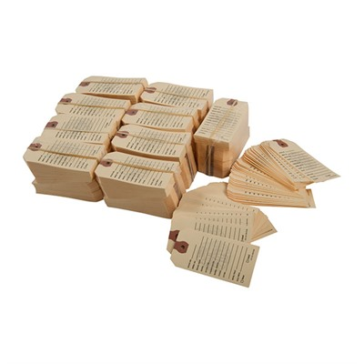 Gun Price Tags - 1000 Brownells Gun Price Tags, Manilla
