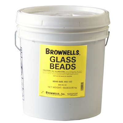 Brownells Glass Beads - #60-100 Glass Beads