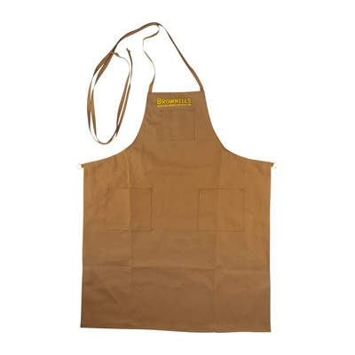 Brownells Long Premium Shop Aprons - Long Premium Shop Apron With O-Ring
